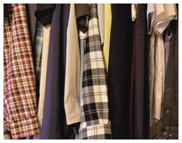 衣類の行方